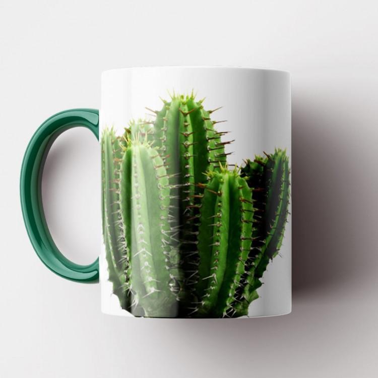 Caneca Cactus - Porcelana 325ml