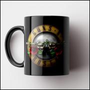 Caneca Guns n- Roses - Porcelana 325ml