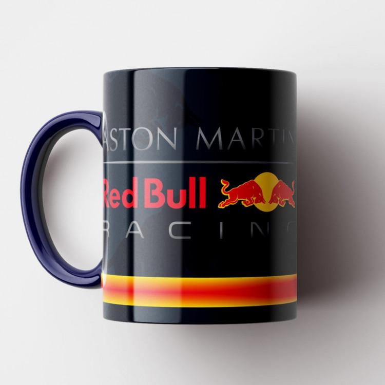 Caneca Fórmula 1 - Red Bull Racing - Porcelana 325ml