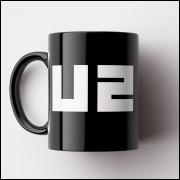 Caneca U2 - Porcelana 325ml