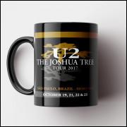 Caneca U2 - The Joshua Tree Tour - Porcelana 325ml
