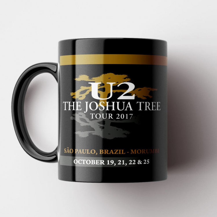 Caneca U2 - The Joshua Tree Tour - Porcelana 325ml