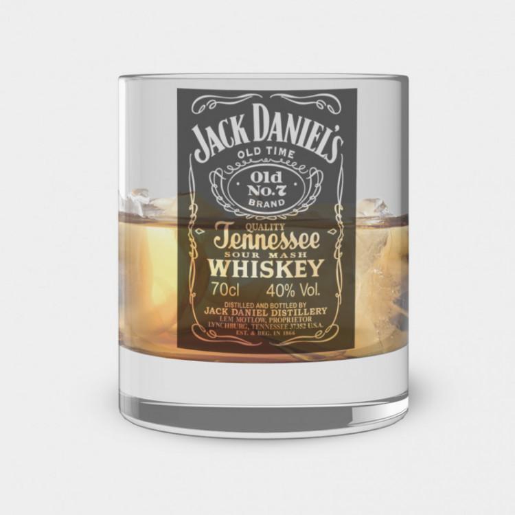 Copo de Whisky - Jack Daniels - Vidro 300ml