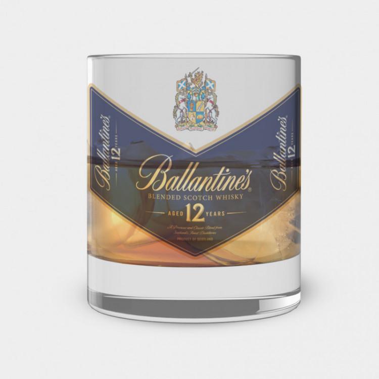 Copo de Whisky - Ballantines - Vidro 300ml