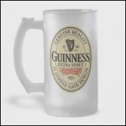 Caneca de Chopp - Guinness - Modelo 2 - Vidro Jateado 475ml