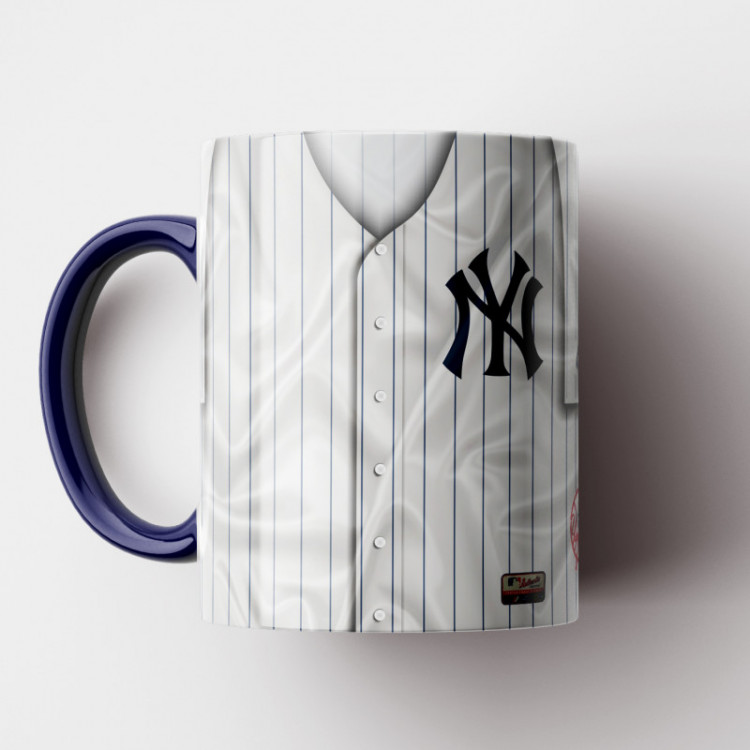 Caneca MLB New York Yankees - Camisa Home - Porcelana 325ml