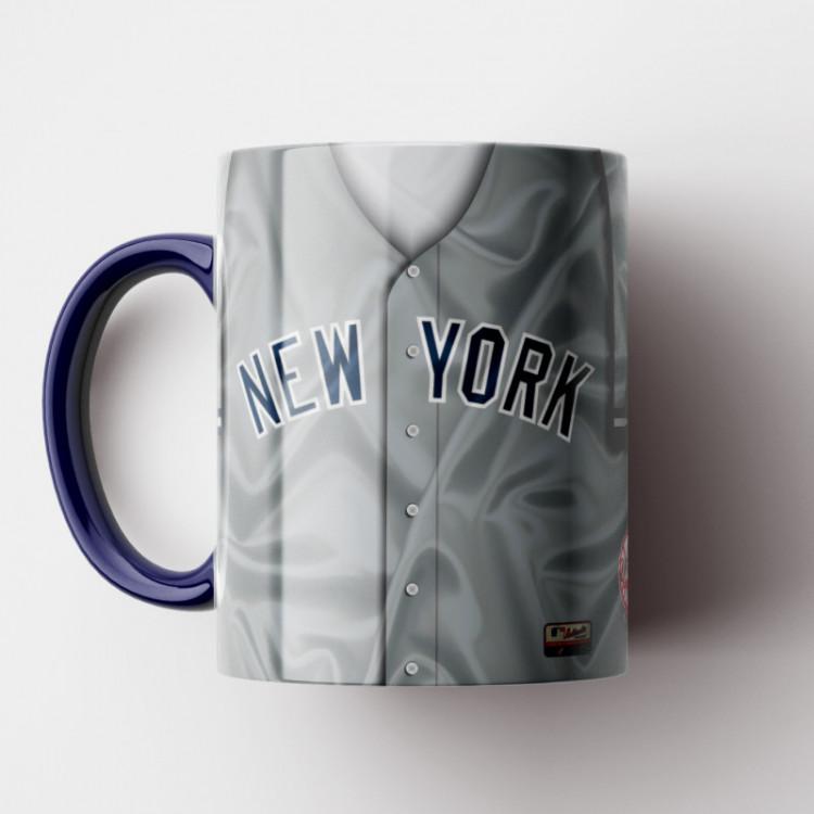 Caneca MLB New York Yankees - Camisa Away - Porcelana 325ml
