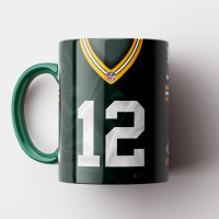 Caneca NFL Green Bay Packers - Camisa 2018/19 - Porcelana 325ml