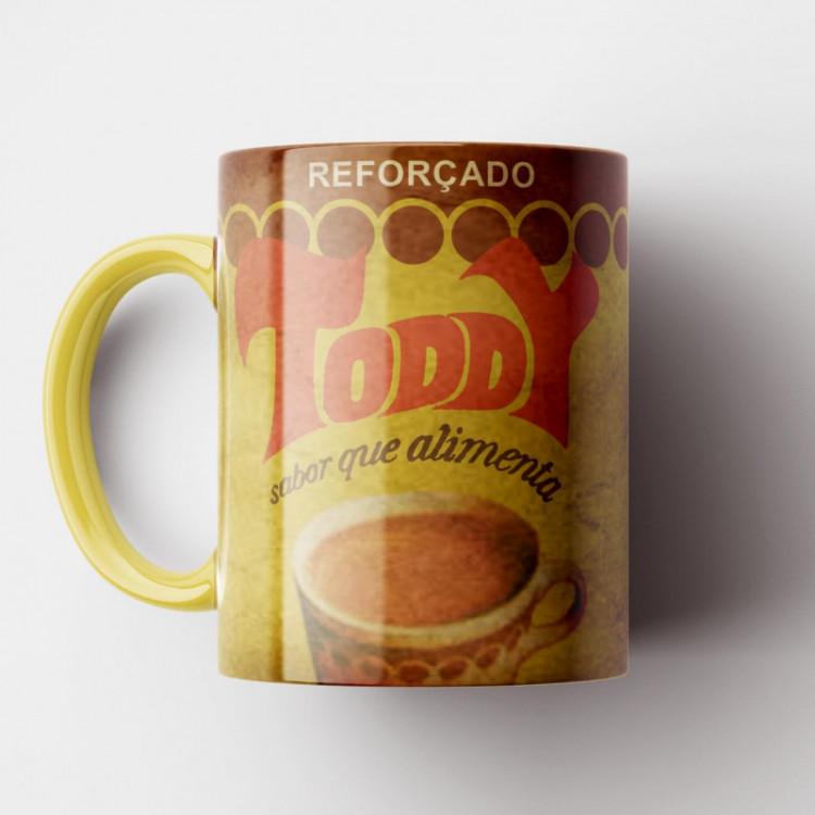 Caneca Toddy Vintage - Coleção Marcas Inesquecíveis - Porcelana 325ml