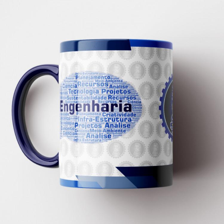 Caneca Engenharia - Coleção Profissões - Porcelana 325ml
