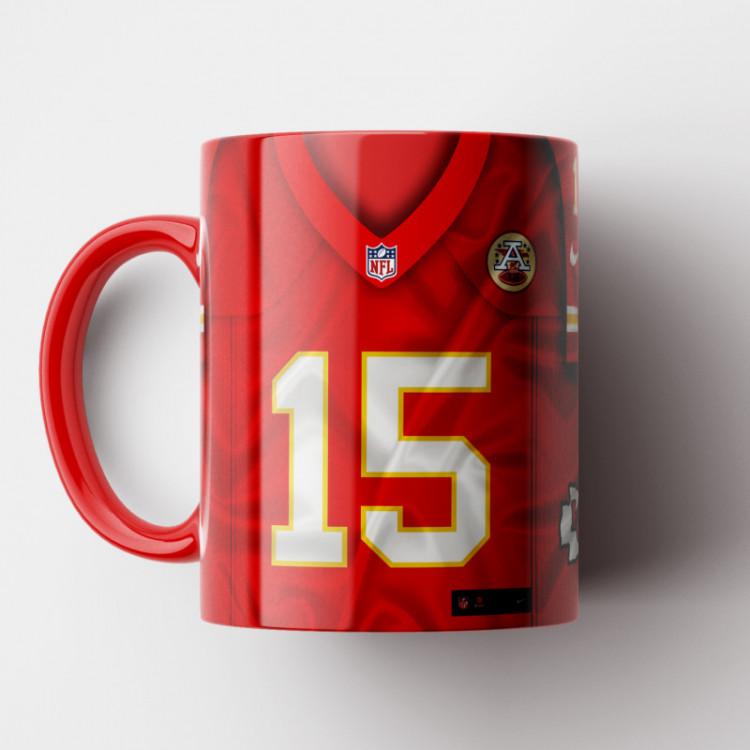 Caneca NFL Kansas City Chiefs - Camisa 2019 - Porcelana 325ml