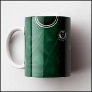 Caneca Palmeiras - Camisa Verde - Campeão Brasileiro 1972 - Porcelana 325ml