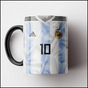 Caneca Argentina - Camisa Copa do Mundo 2018 - Porcelana 325ml