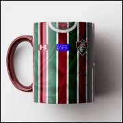 Caneca Fluminense - Camisa Tricolor 2018 - Porcelana 325ml