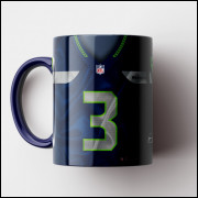 Caneca NFL Seattle Seahawks - Camisa 2018/19 - Porcelana 325ml