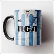 Caneca Racing Club - Camisa 2018/19 - Porcelana 325ml