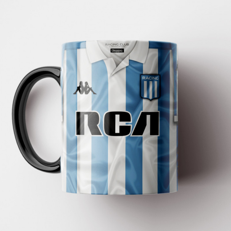 Caneca Racing Club - Camisa 2018/19 - Porcelana 325ml