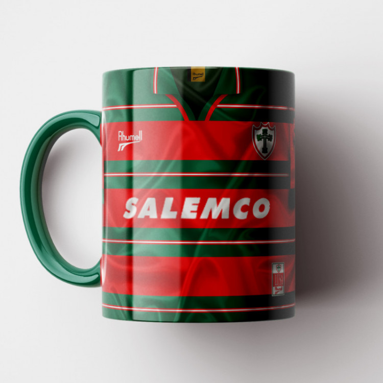 Caneca Portuguesa - Camisa 1997 - Porcelana 325ml