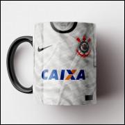 Caneca Corinthians - Camisa Branca - Bi-Campeão Mundial 2012 - Porcelana 325ml