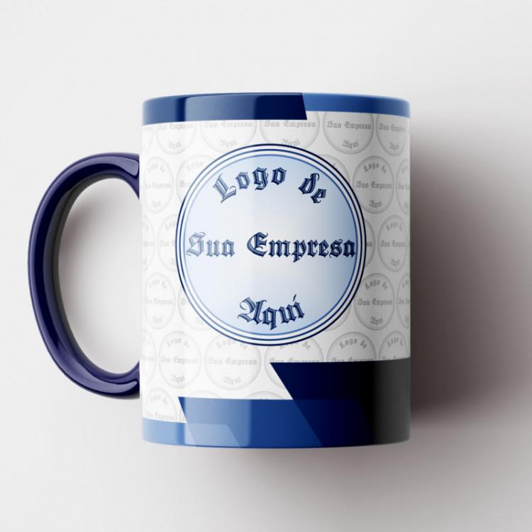 Caneca Corporativa (Personalizada com sua Logo) Modelo 3 - 01 Unid.