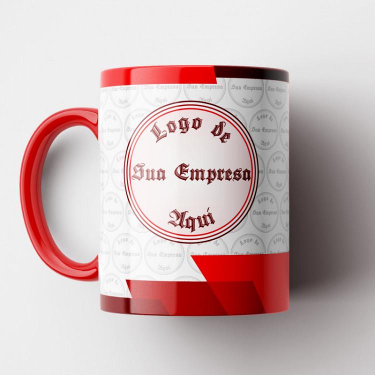 Caneca Corporativa (Personalizada com sua Logo) Modelo 5 - 01 Unid.