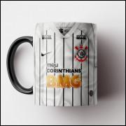 Caneca Corinthians - Camisa Branca 2019 - Porcelana 325ml