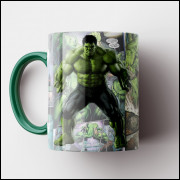 Caneca Hulk HQ - Porcelana 325 ml