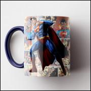 Caneca Superman HQ - Porcelana 325 ml