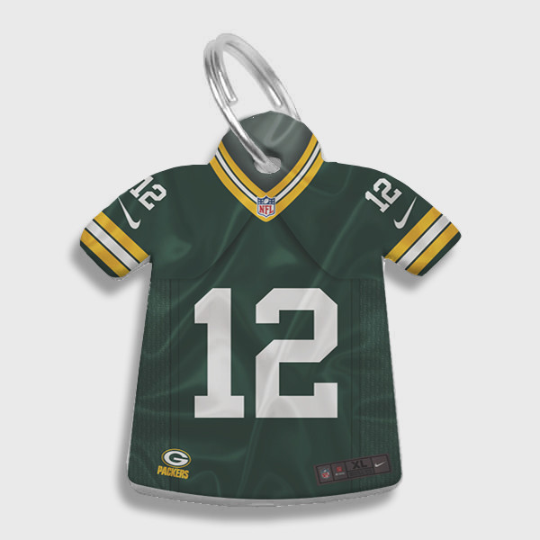 Chaveiro NFL Green Bay Packers - Camisa 2019