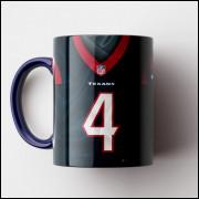 Caneca NFL Houston Texans - Camisa 2019 - Porcelana 325ml