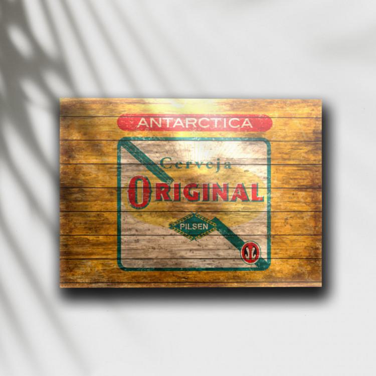Placa Decorativa Cerveja Original 1 - MDF 6 mm - Tam. 28 x 20 cm