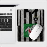 Mouse Pad Botafogo - Camisa 1995 Campeão Brasileiro - EVA - Tam. 23 x 19,5 cm