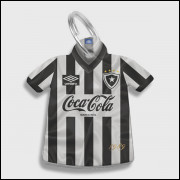 Chaveiro Botafogo - Camisa Listrada - Campeão Carioca 1989 (Fim do Jejum)