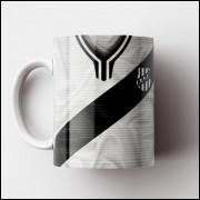 Caneca Ponte Preta - Camisa 1977 - Porcelana 325ml